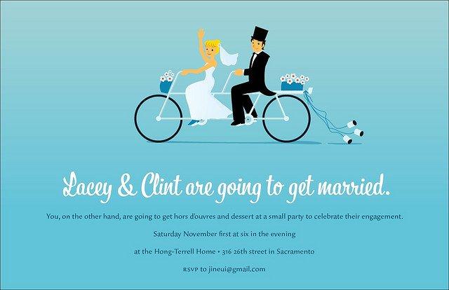 Funny Engagement Invitations