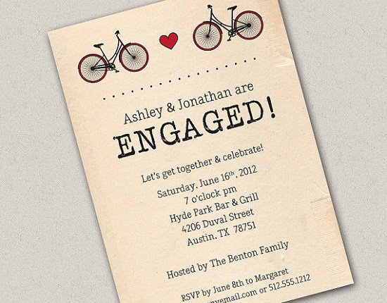Fun Engagement Party Invitation Wording – Creative Engagement Party Invitations