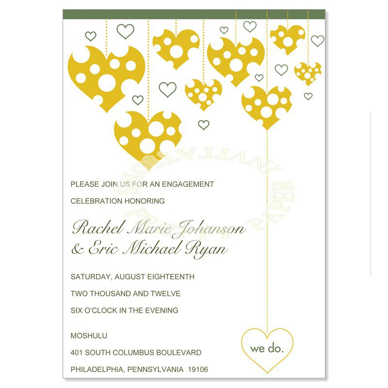 Funny Engagement Party Invitations