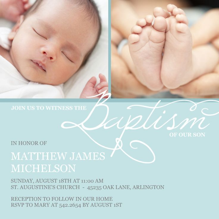 Girl Baptism Invitations Wording