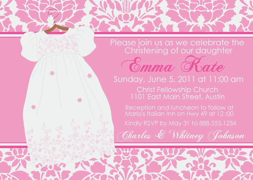 Girl First Communion Invitation Cards