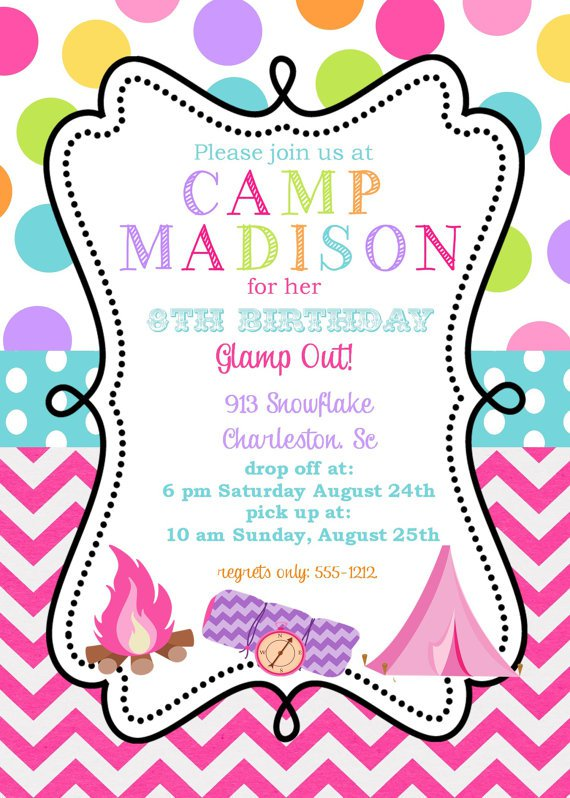 Girl Invitations Templates Free