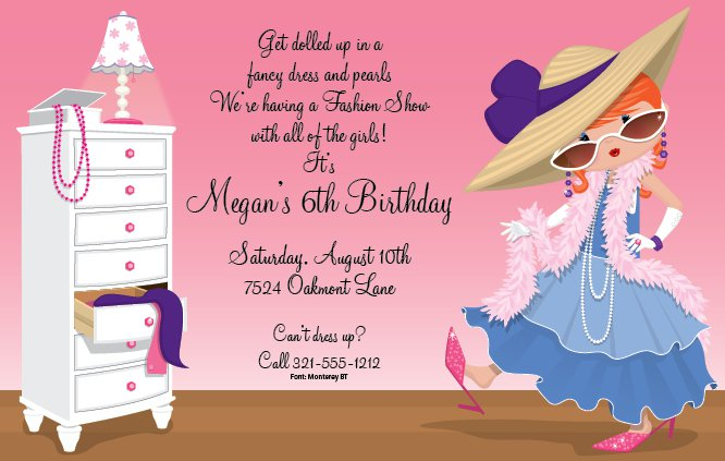 Girl Party From Invitations