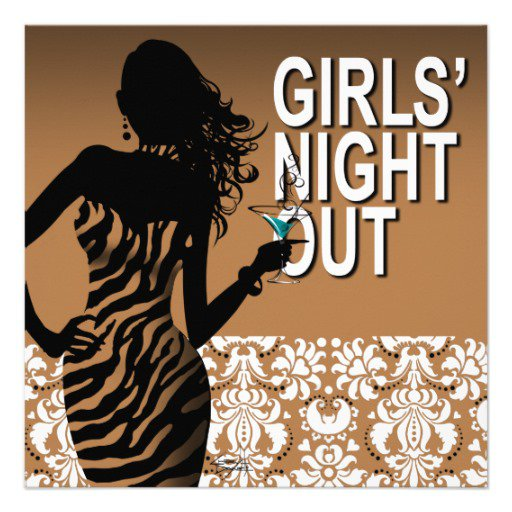 Girls Night Out Party Invitations