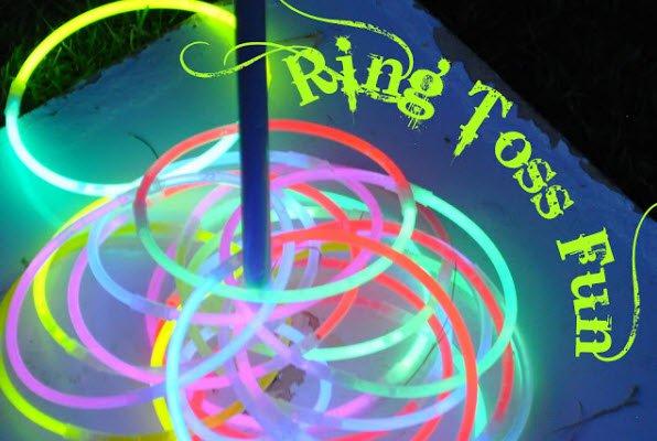 Glow Party Invitations Ideas
