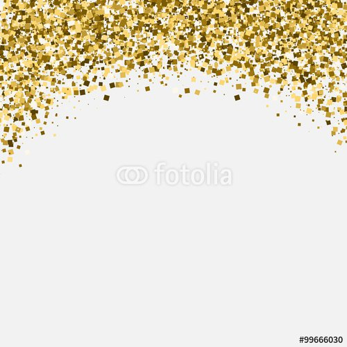 Gold Invitation Background