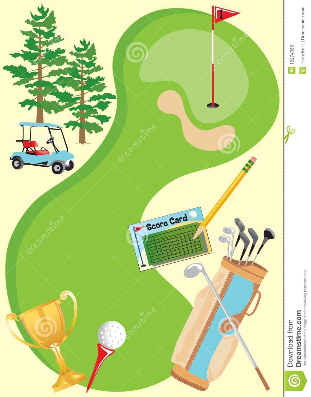 Golf Event Invitation Templates