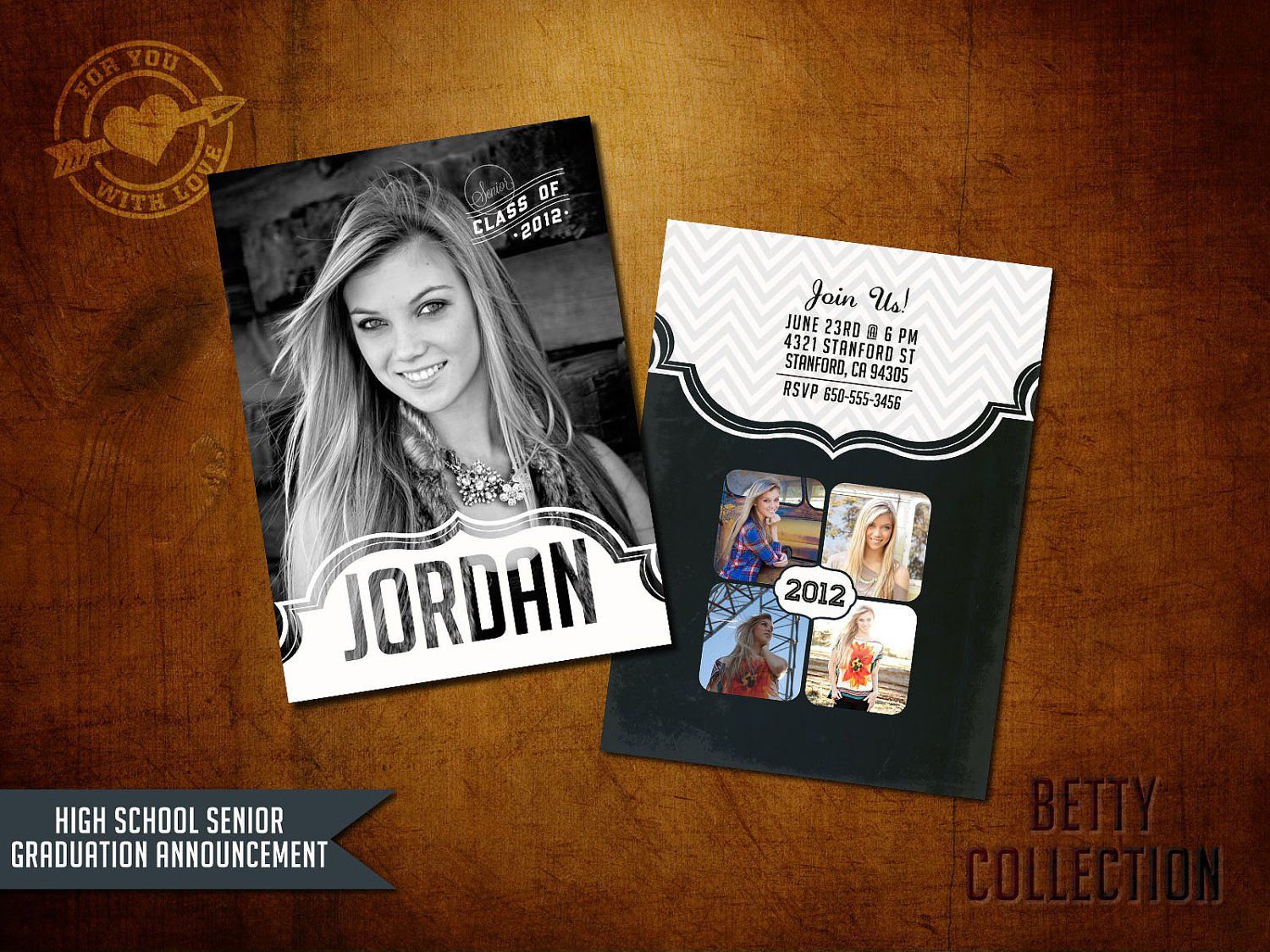 Graduation Announcements 5x7