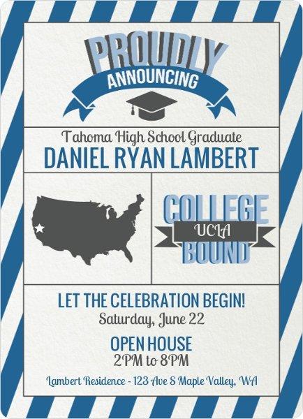 Graduation Announcements Invitations Etiquette