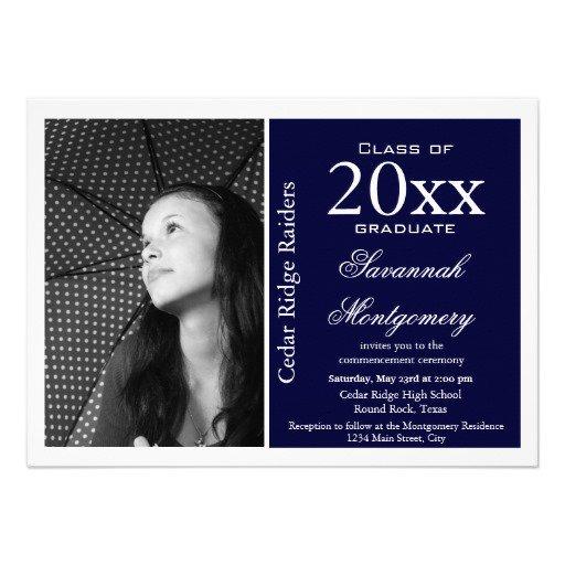 Graduation Announcements Invitations Templates