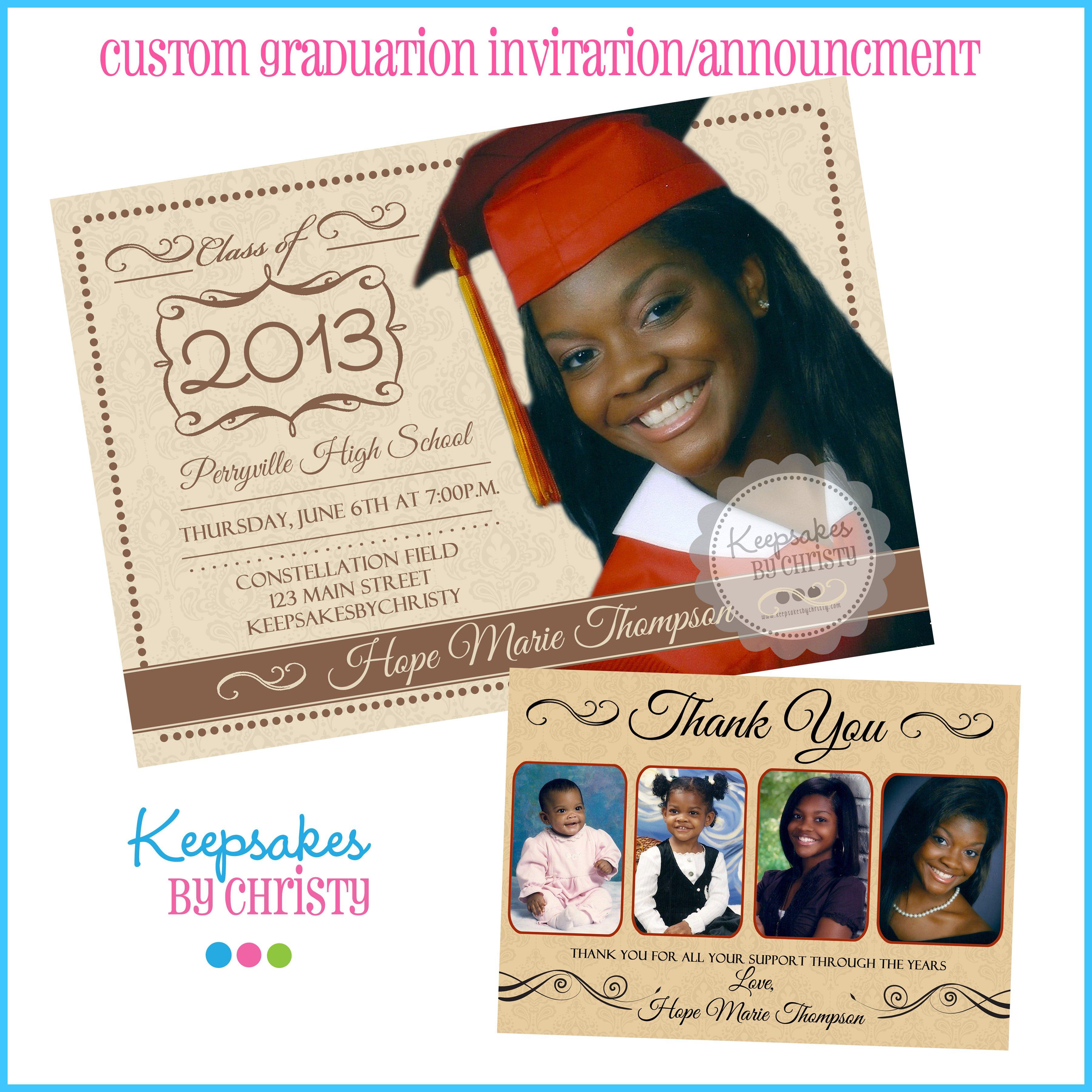 Graduation Invitation Cards Samples