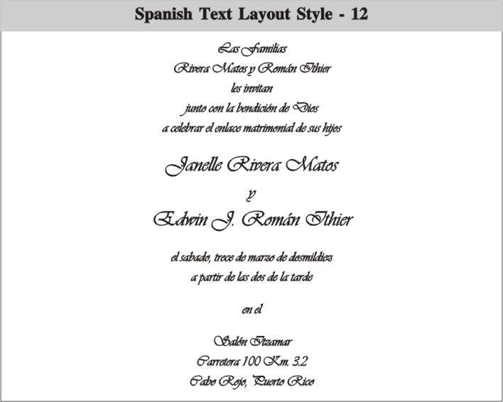 Graduation Party Invitations Wording In Spanish
