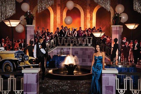 Great Gatsby Prom Invitations