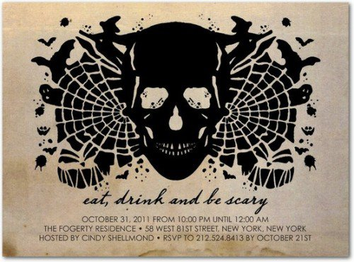 Halloween Invitation Ideas Pinterest