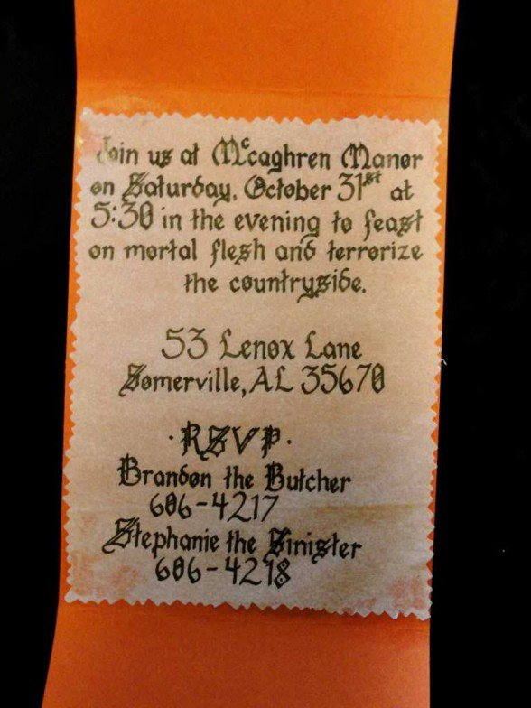 Halloween invitation wording ideas filmwisefo