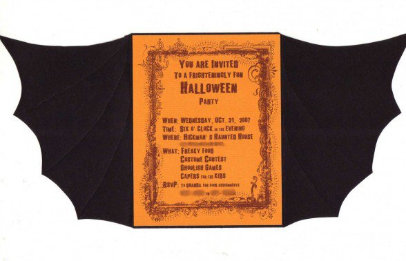 Party Invitation Sayings – Halloween Party Invites Wording