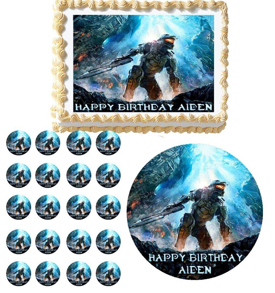 Halo 4 Birthday Party Ideas