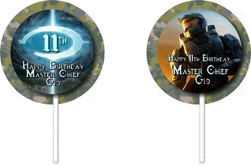 Halo 4 Birthday Party Supplies
