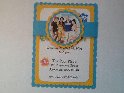 Handmade Birthday Invitations For Teens