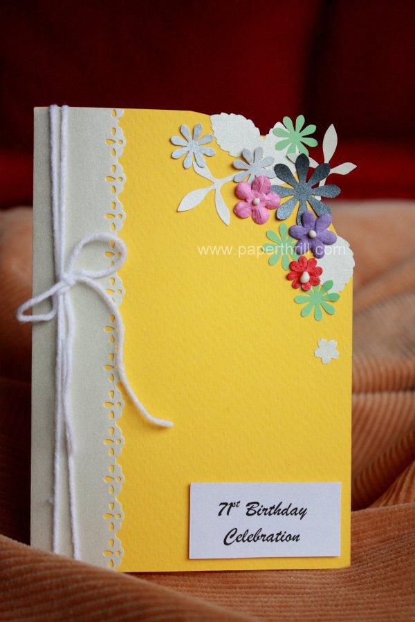 Handmade Invitation Card