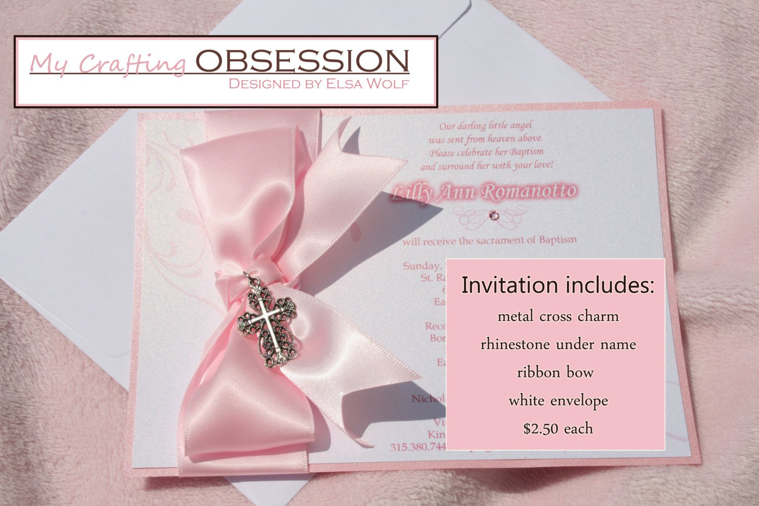 Handmade Invitation Card