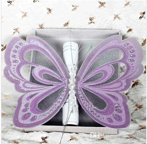 Handmade Paper Wedding Invitation Kits