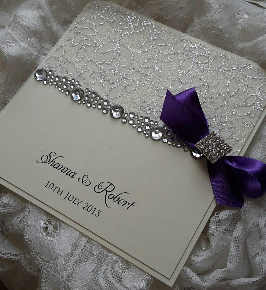 Handmade Paper Wedding Invitations Uk