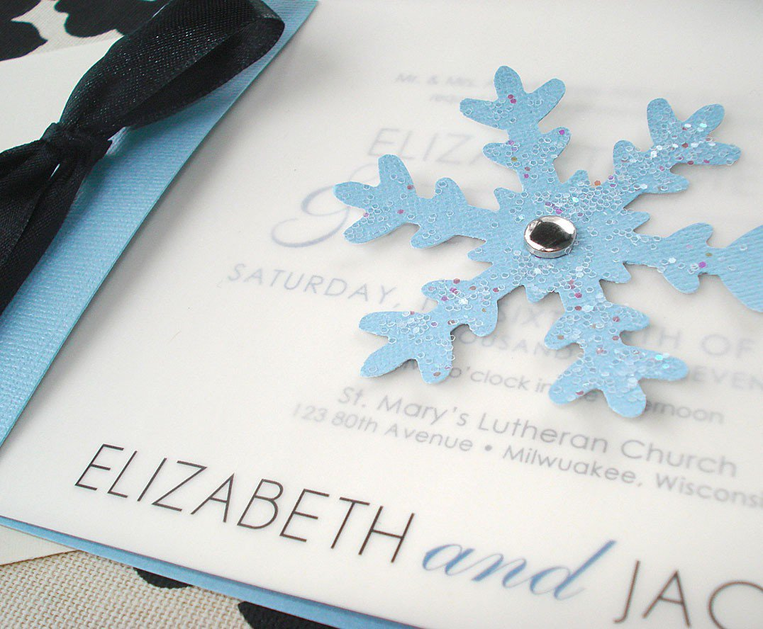 diy snowflake invitations - Boat.jeremyeaton.co