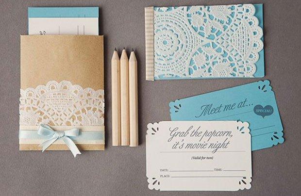 Handmade Wedding Invitation Ideas Pinterest