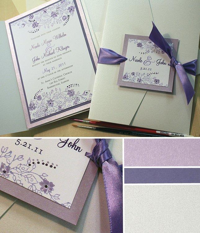 Handmade Wedding Invitations Templates