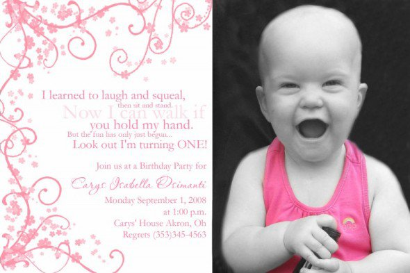 Happy Birthday Invitations Cards