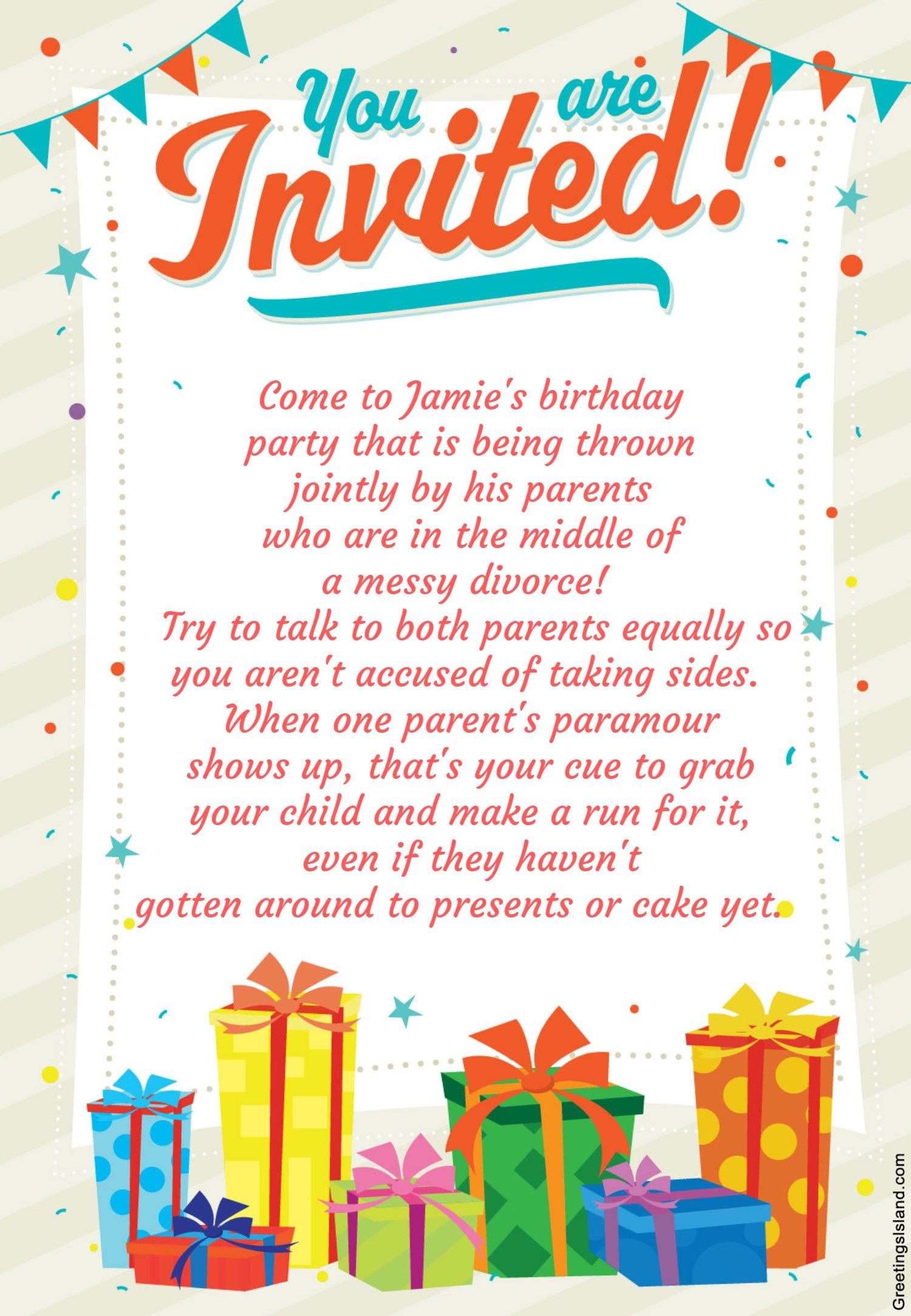 happy birthday invitations for boys