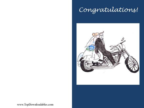 Harley-davidson Birthday Invitation Templates