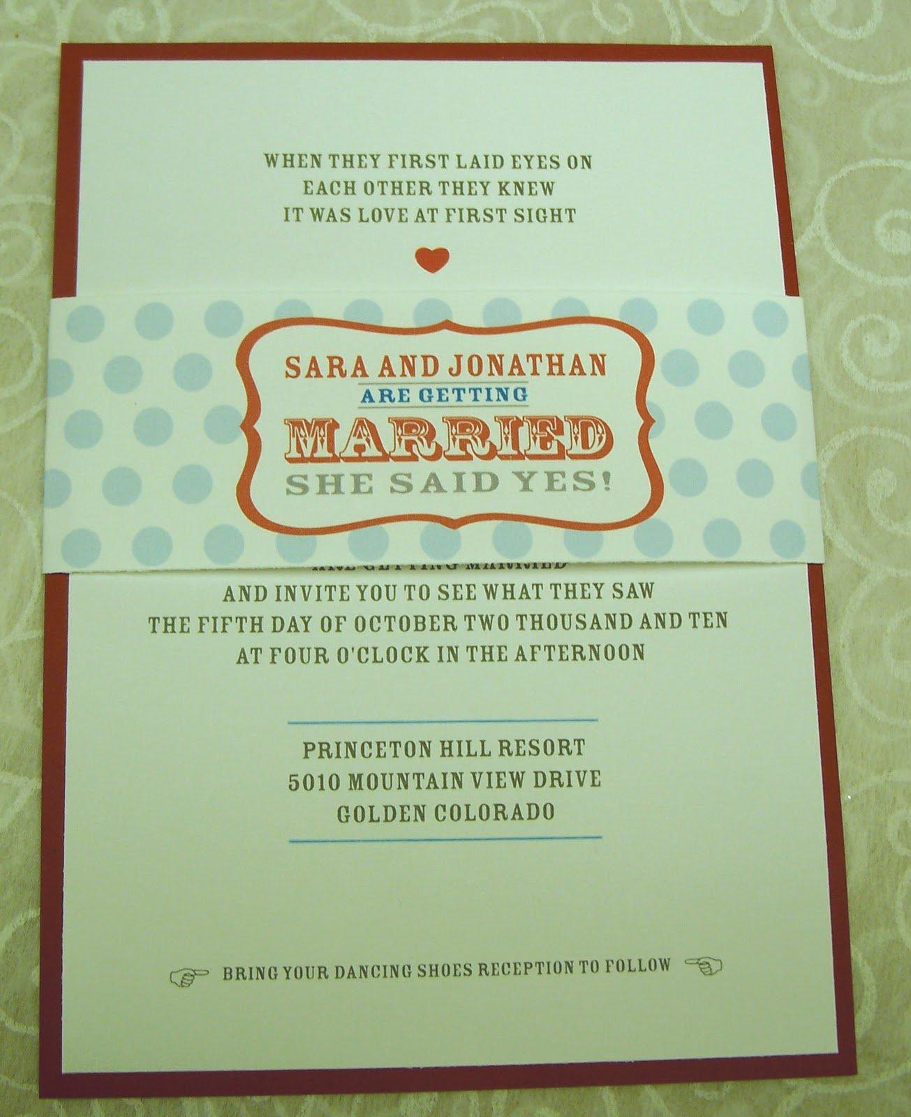 Harry Potter Wedding Invitation Wording