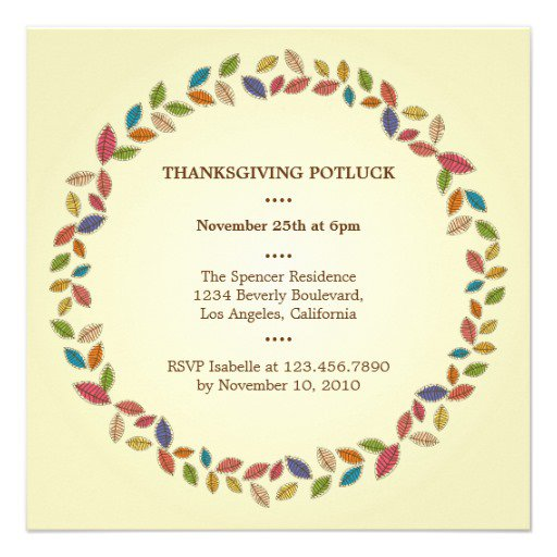 Harvest Party Invitation Wording