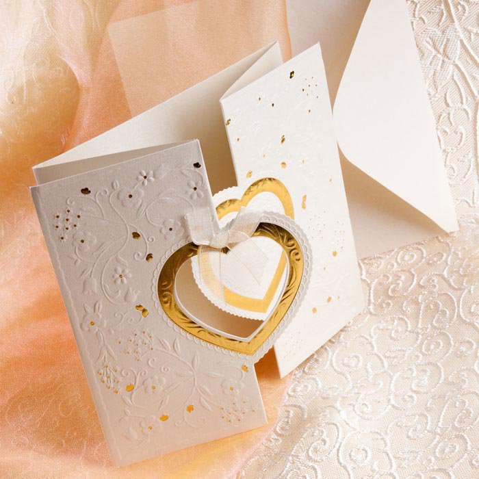Heart Wedding Invitations Affordable