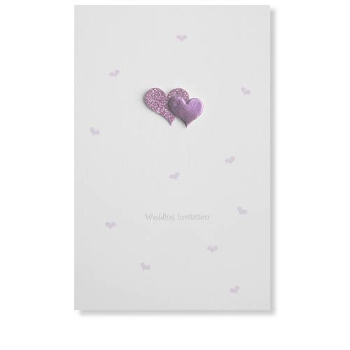 Heart Wedding Invitations Uk