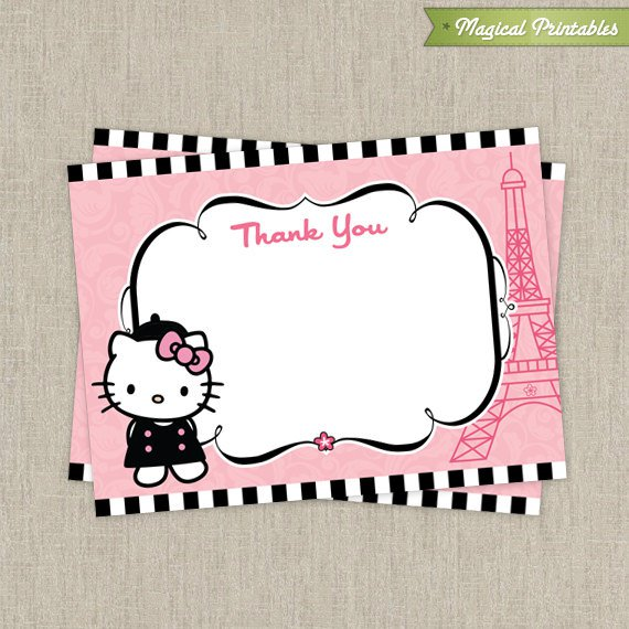 Hello Kitty Labels Printable