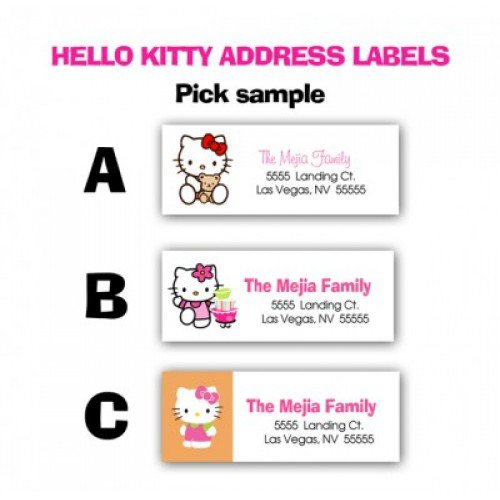 Hello Kitty Pool Birthday Party Printable Invitation Kits