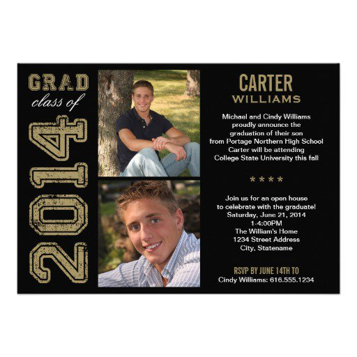 High School Graduation Announcements 2015