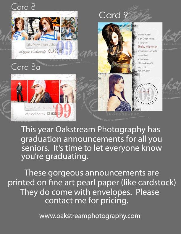 High School Graduation Announcements Samples