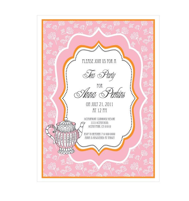 Formal tea party invitations stopboris Choice Image
