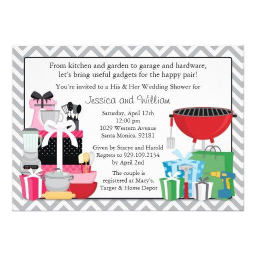 His Hers Wedding Invitations Templates