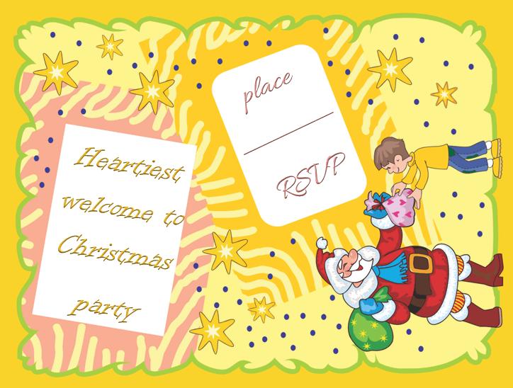 Holiday Christmas Party Invitation Templates