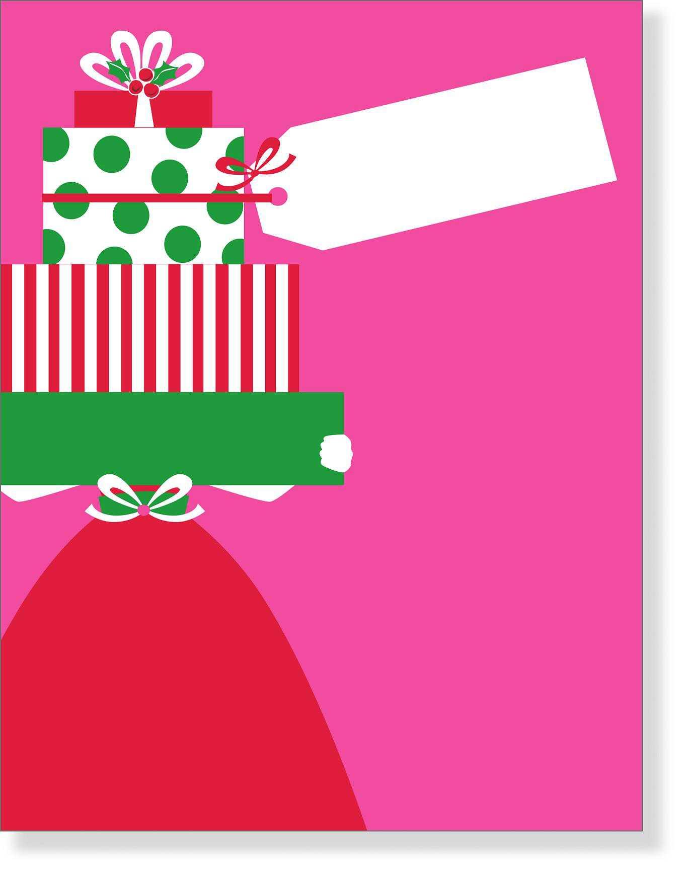 Holiday Party Blank Invitations