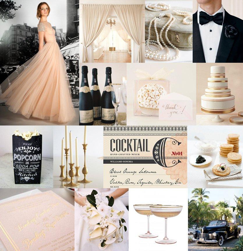 Hollywood Glam Wedding Invitations