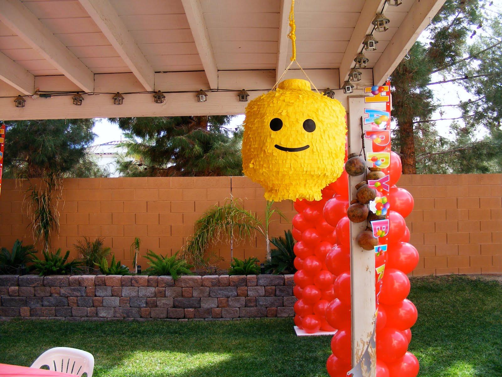 Homemade Lego Party Ideas