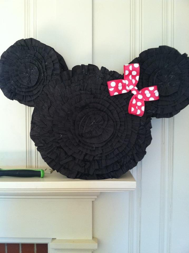 Homemade Minnie Mouse Party Ideas