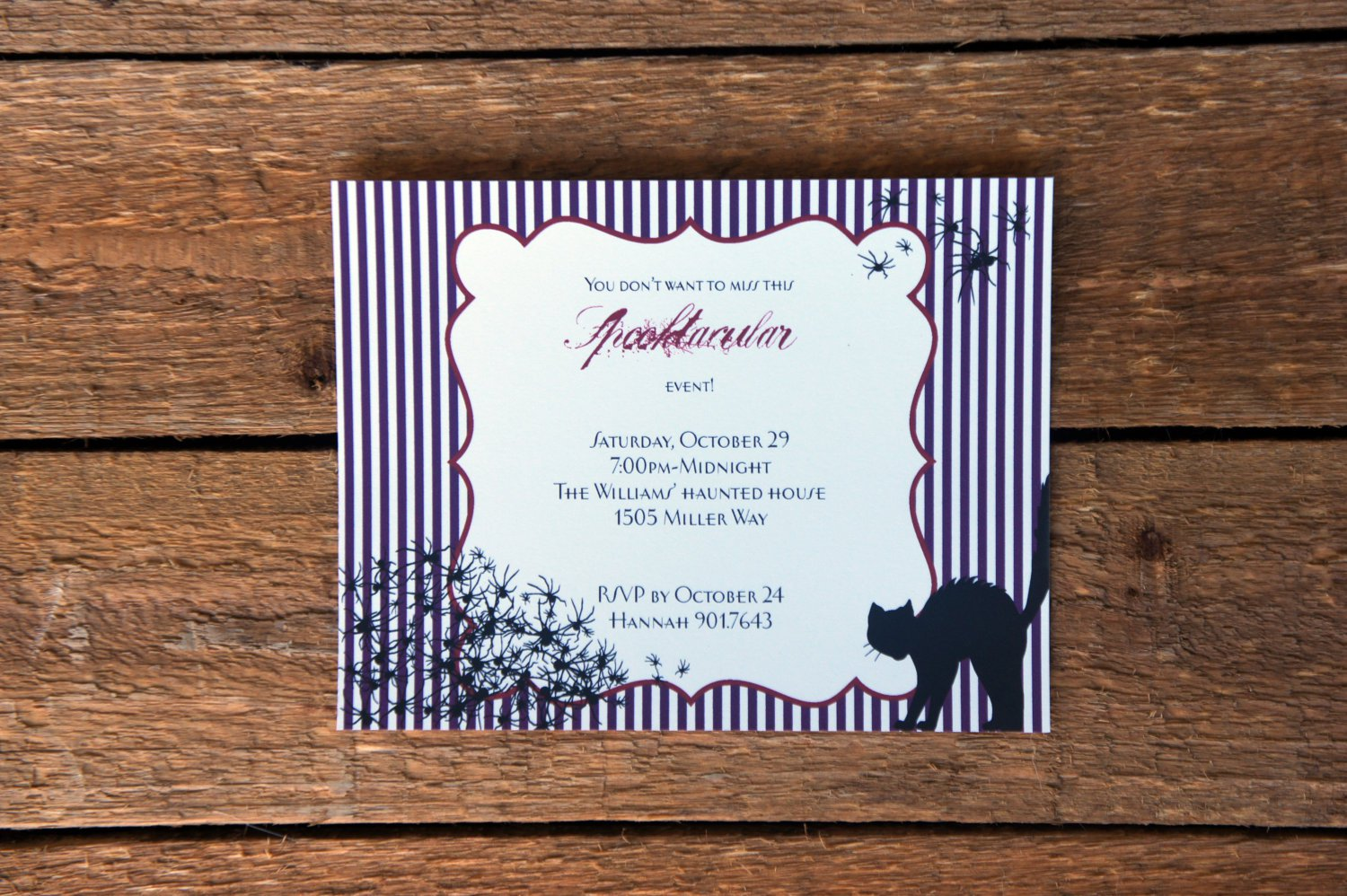 House Party Invitations Wording