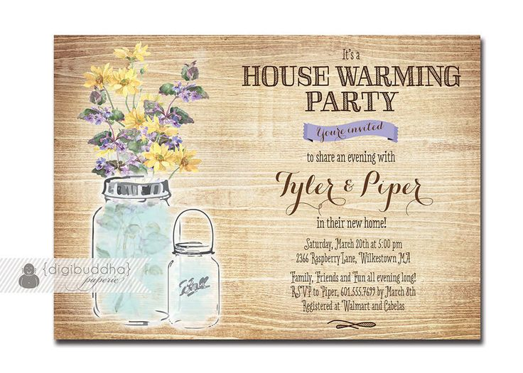 Housewarming Party Invitation Templates